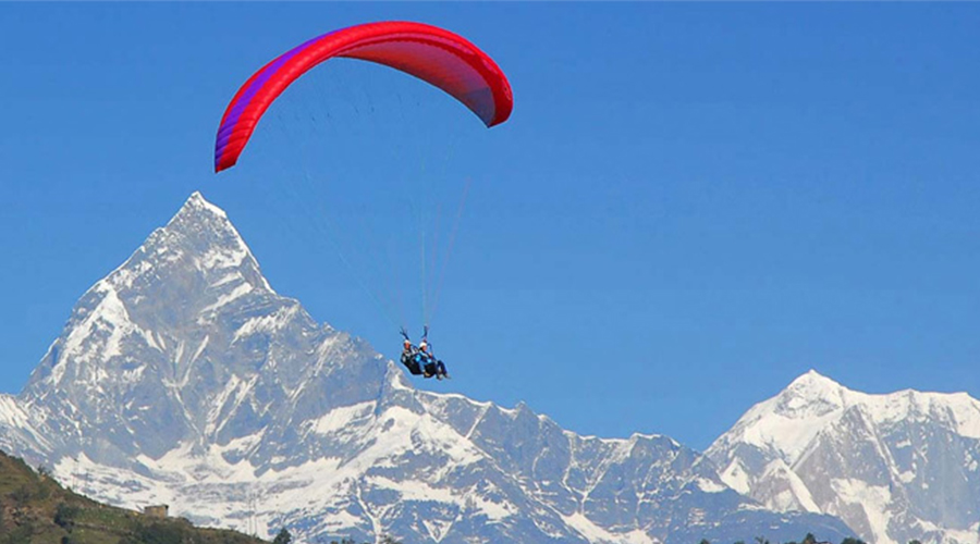 paragliding in Pokhara-Adventure-sports-Nepal