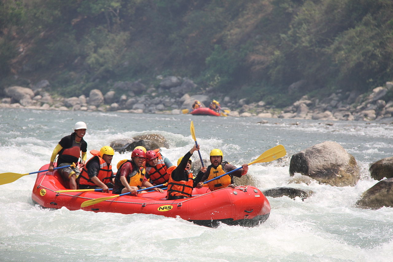 Rafting at Bhote Koshi
