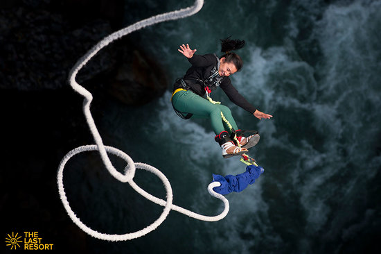 Bungee Jumping and Swing in Bhote Koshi