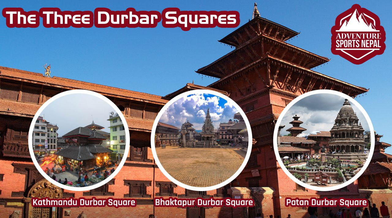 The Three Durbar Squares