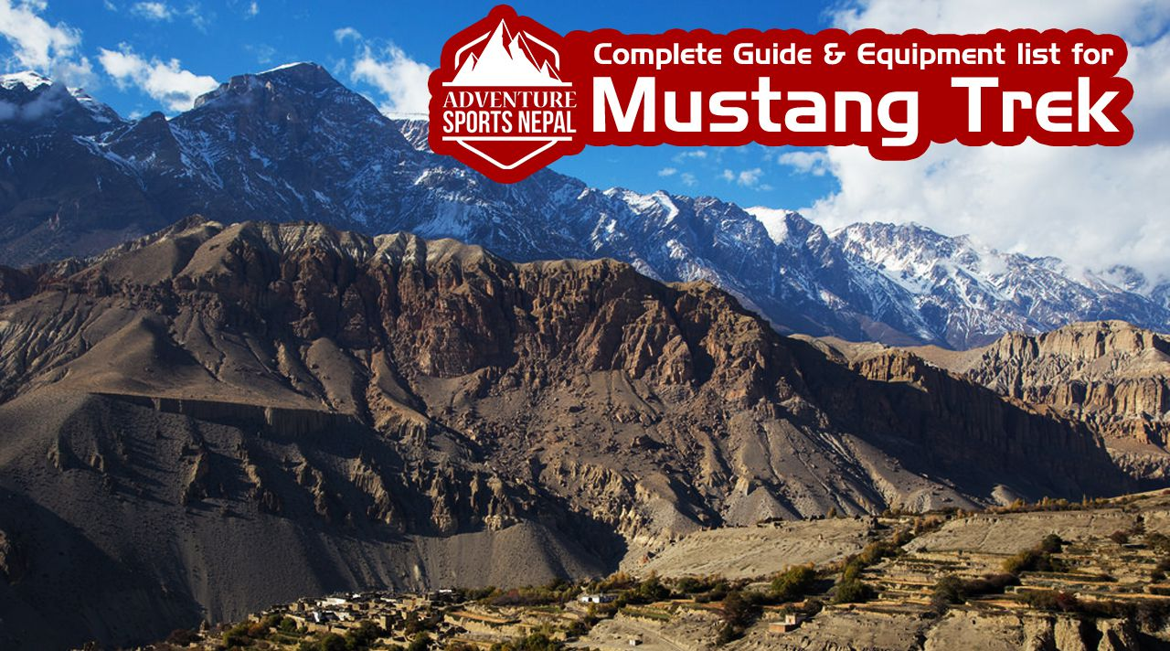 Complete Guide & Equipment list for Mustang Trek